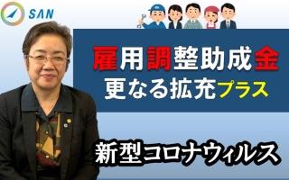 雇調金更なる拡充プラス~新型コロナウィルス特例措置_特定社会保険労務士 髙野洋子